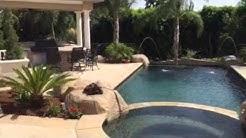 Custom Backyard Design by Splash Pools in Upland