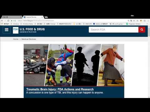 FDA網站的使用方式 (HOW to Use FDA  website)