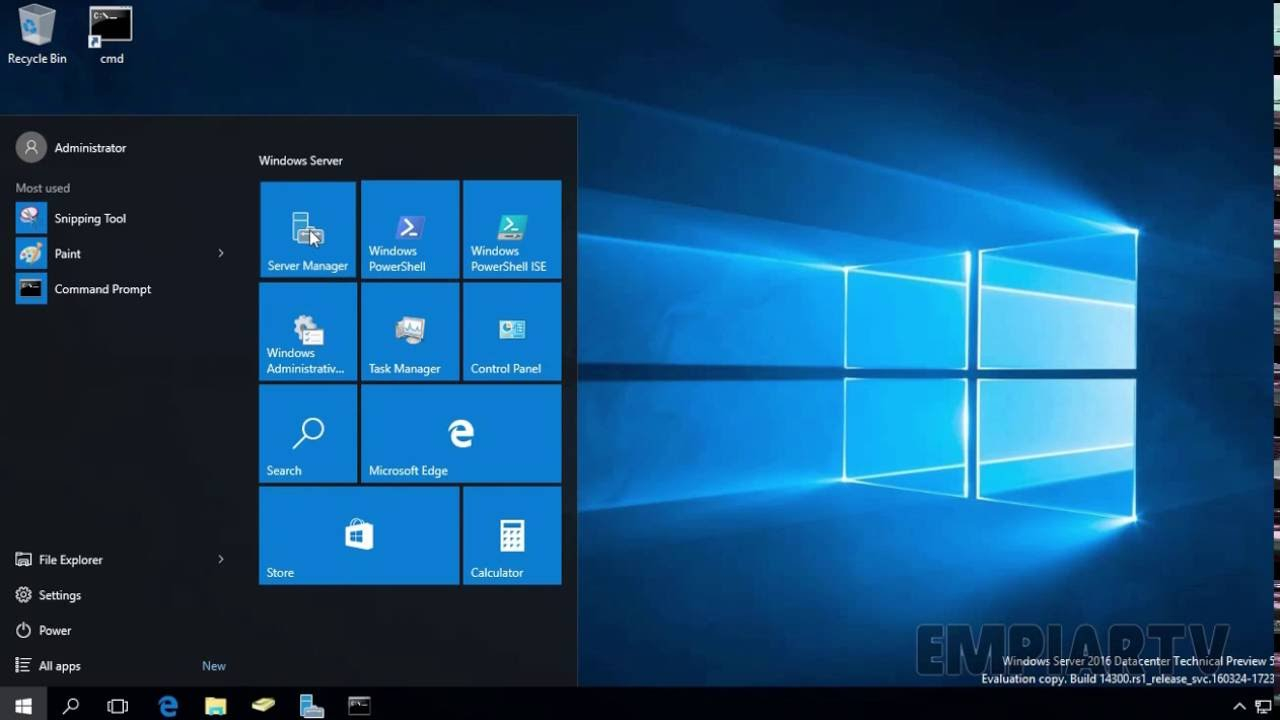 how to enable remote desktop in windows server 2016