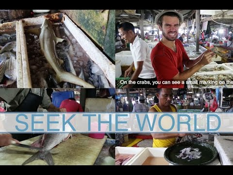 JIMBARAN FISH MARKET IS ONE OF TOP FISH MARKETS IN INDONESIA