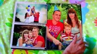 Образец семейной фотокниги А4 (20х30) из фотографий заказчика(дизайн полностью согласовывается с заказчиком по интернет сроки выполнения дизайна в течении недели, фото..., 2015-09-21T06:36:19.000Z)