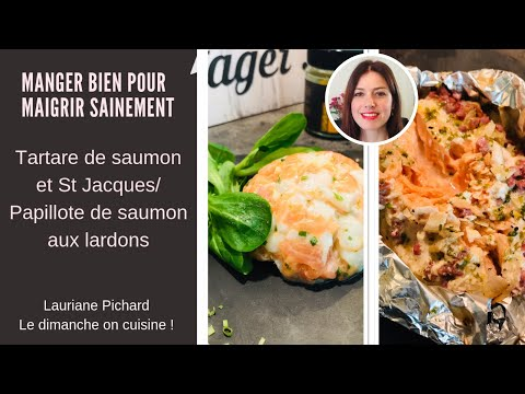 manger-bien-maigrir-sainement-:-tartare-de-saumon-et-st-jacques/papillote-de-de-saumon-aux-lardons