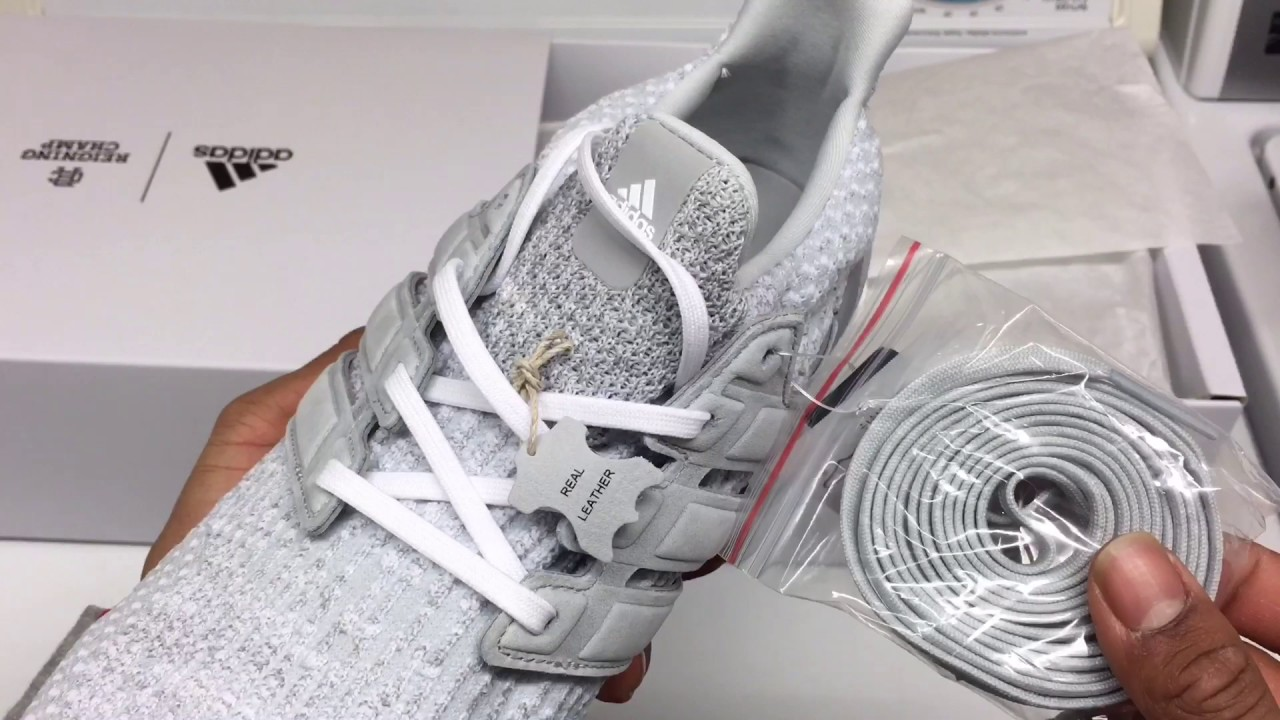 b0416ac61 Adidas X Reigning Champ Ultraboost Unboxing On Foot. - YouTube