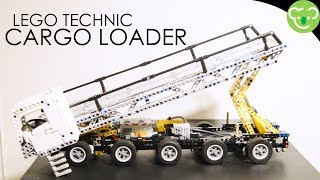 Lego Technic [MOC] Self Propulsed Elevating Platform [Prototype]