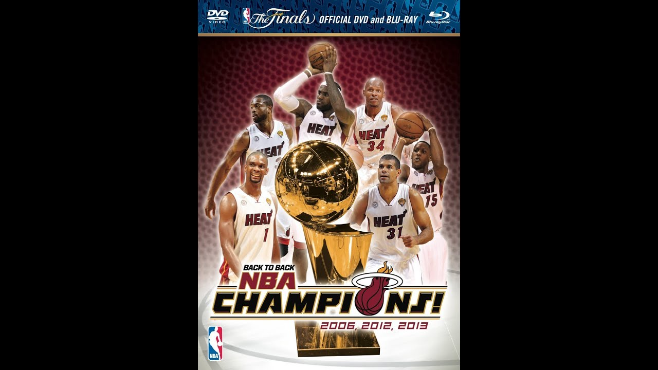 Miami Heat 2013 Championship DVD/Blu-Ray Available Now ...