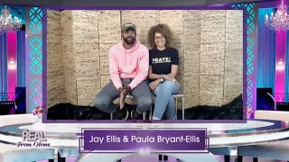"FULL INTERVIEW: Jay Ellis and Paula Bryant-Ellis on ""Behind Her Faith"" and More!"