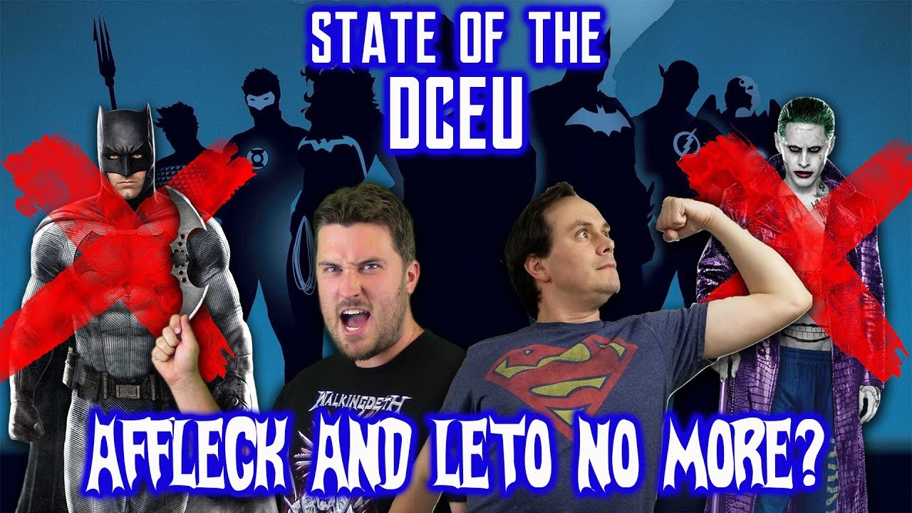 State of the DCEU: Affleck and Leto No More?
