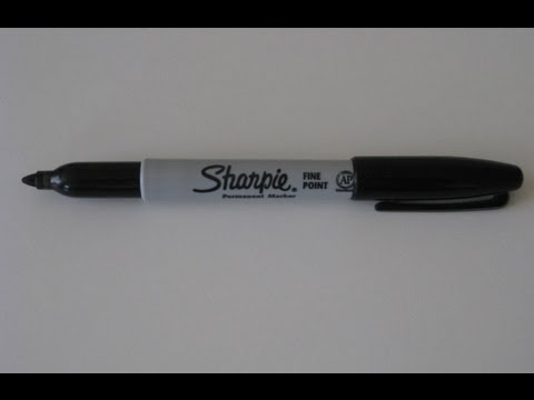 Sharpie Marker Review - Fine Point