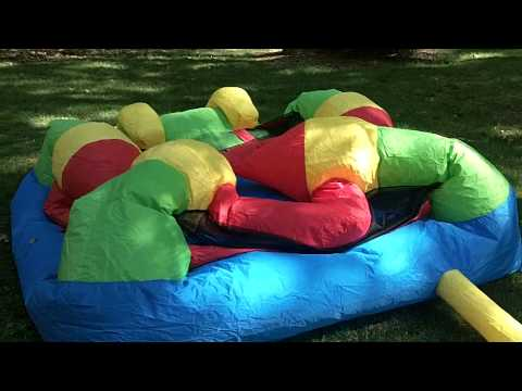 Castle Inflatable Bounce House - Blower and Inflate Time