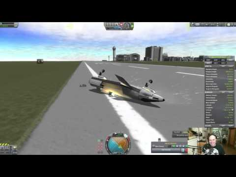Testing An Oblique Wing Aircraft - Livestream 22nd September