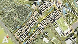 Gambar cover Plannen voor wijk rond De Toekomst: 4500 woningen en groot park