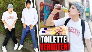 Wer ZULETZT auf Toilette geht, kriegt 500€ 😩🚽