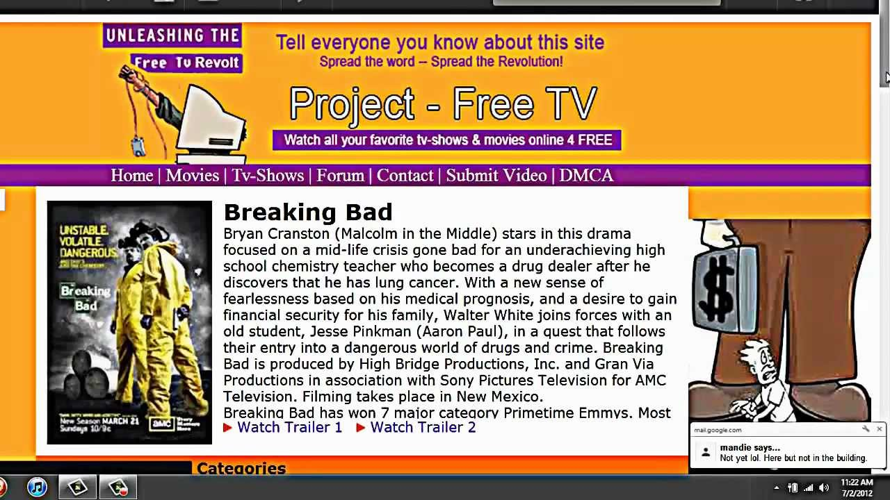 Free Tv Project
