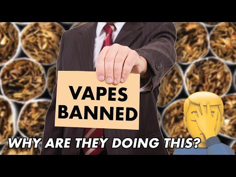 Vaping may be getting BANNED in Canada. This might be the end.