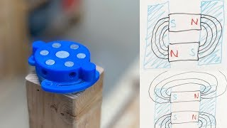 3D Print a Magnetic Switch, and how it works