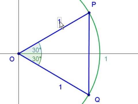 matematika dimostrazione seno di 30 1 2 youtube