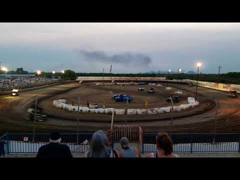 Cameron Haney Sr and Jr race at Marysville Raceway Park