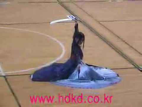 Korean Two Sword Dance By Jae Kyung