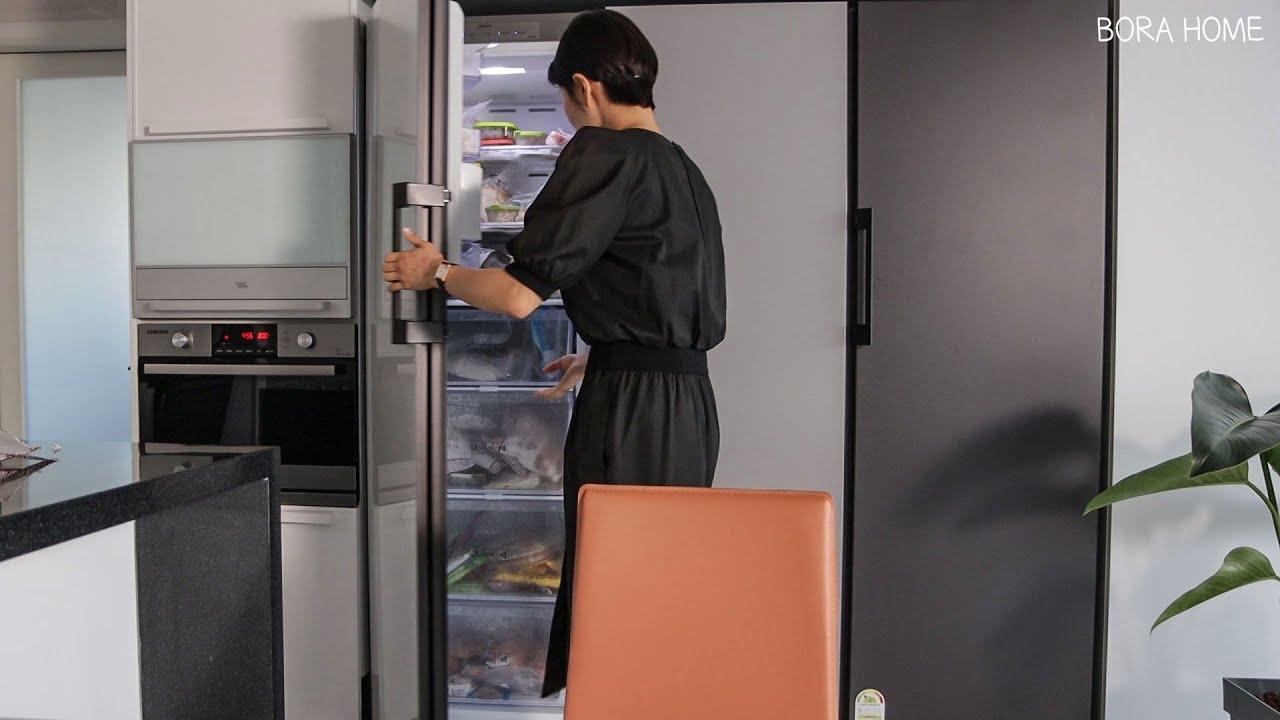 10년차,냉장고를 부탁해 🥕 냄새 1도 없는 비법☺[ BORA HOME ]