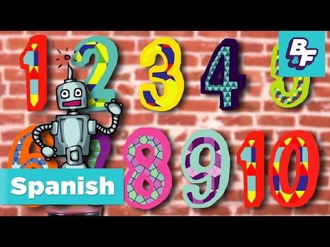 Learn to count in Spanish with BASHO & FRIENDS [Episode Version]