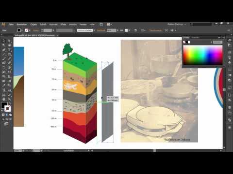 Infografiken und Querschnitte erstellen – Adobe Illustrator CS6