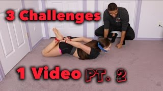 3 CHALLENGES 1 VIDEO (Part 2)
