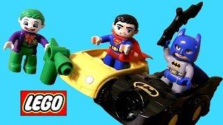 LEGO DUPLO Superheroes Batman Vs. Superman Joker Challenge & Superman Rescue