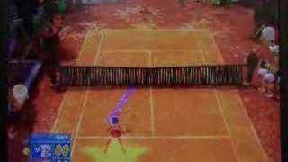 Sega Superstars Tennis gameplay video (PS3)