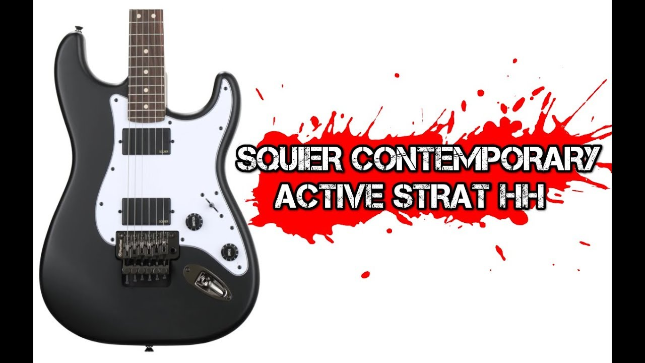 hight resolution of squier contemporary active stratocaster hh
