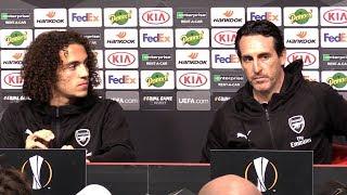 Unai Emery & Matteo Guendouzi Full Pre-Match Press Conference - Rennes v Arsenal - Europa League