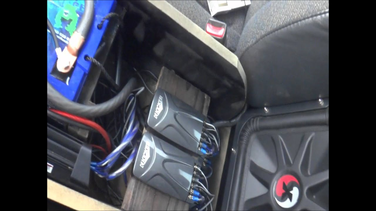 Silverado 2005 chevy silverado center console : My Chevy Silverado kicker build. - YouTube