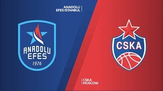#EuroLeague #FinalFour Final: Anadolu Efes - CSKA Moskova