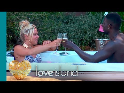 Marcel and Gabby's Bubbling Hot Date | Love Island
