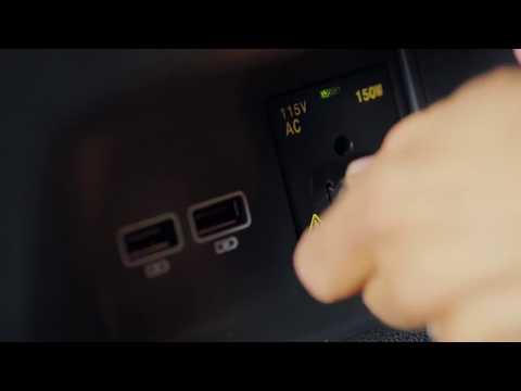115V Power Outlet in the 2018 Volkswagen Atlas