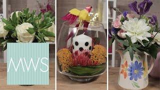 3 DIY Floral Table Displays | Bridal Blossom S1E2/8