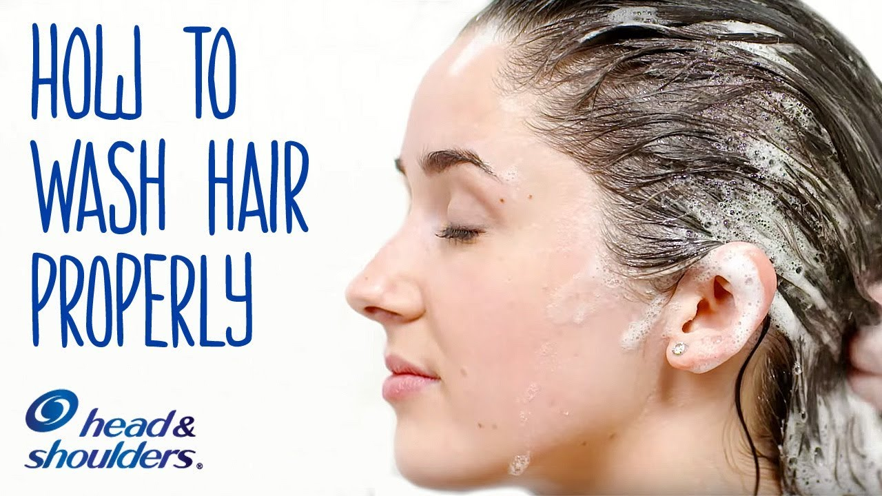 The Right Way to Wash YourHair
