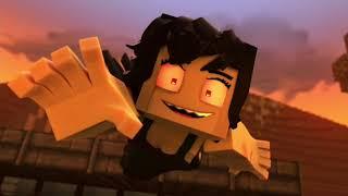 Reaction Zombie girl 🎃🧠(Анимация музыкального видео Minecraft)