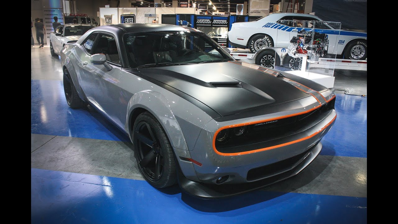 Ram Srt 10 >> 2015 Dodge Challenger GT AWD Concept - SEMA 2015 - YouTube