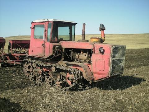 Русский трактор: Трактора на севере видео