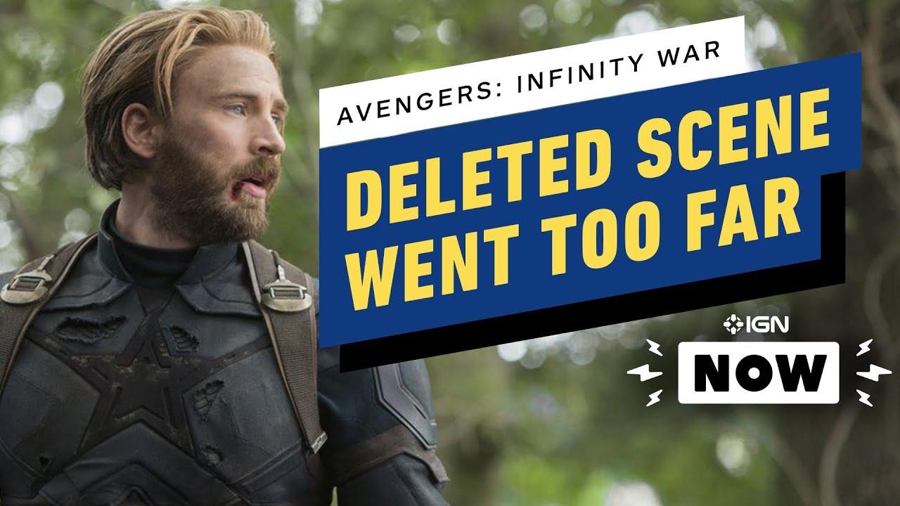 Vingadores: Guerra Infinita: escritores revelam cena deletada do Capitão América que foi longe demais - IGN Now + vídeo