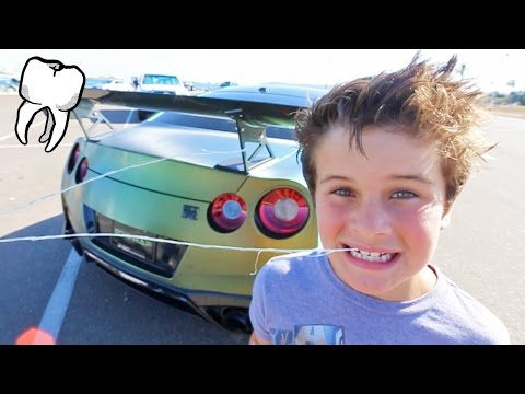Thumbnail: BABY TOOTH VS SUPERCAR!