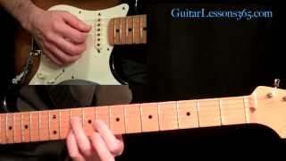 Funk Rhythm Guitar Lesson Pt.1