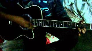 Bindu ami tumi amai ghire-tahsan guitar lesson by premmatal