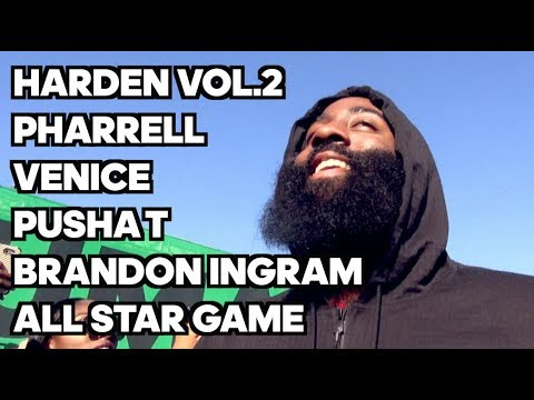 ENCONTRAMOS JAMES HARDEN NO LANÇAMENTO DO HARDEN VOL. 2 - LOS ANGELES E ALL STAR GAME