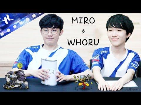 Lunatic-Hai MIRO & WHORU duo (MIRO facecam)