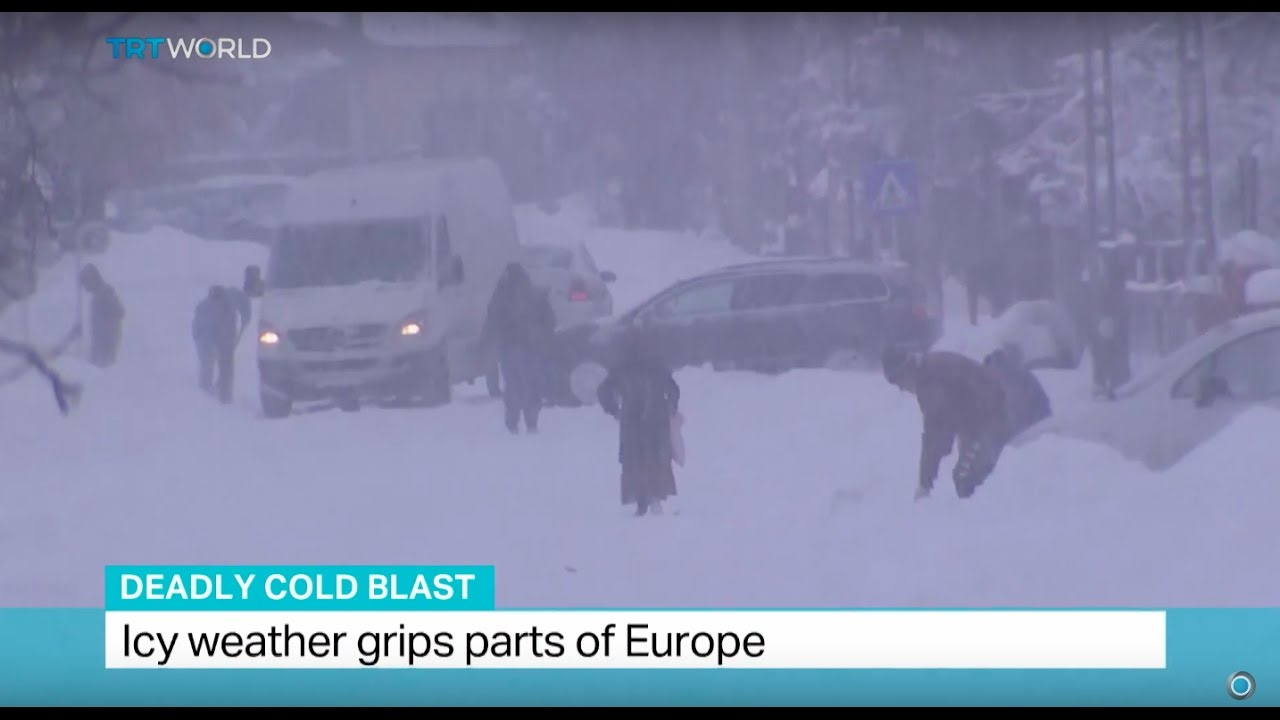 (EUROPE - January 2017) Deadly Cold Blast: Icy weather grips parts of Europe