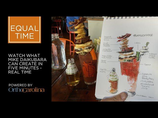 Equal Time: Mike Daikubara Makes Merry in 5 Minutes