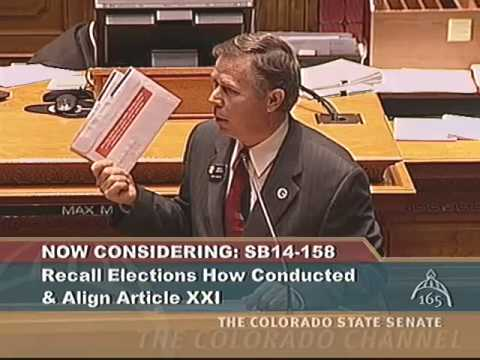 Colorado Senate 2014 Legislative Day 79