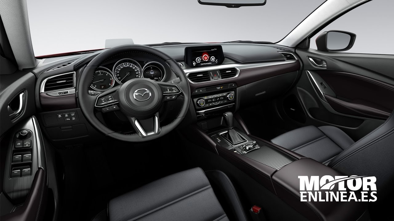 Mazda 6 2017 Interior Youtube