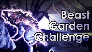 Destiny 2: How to Do The Beast Garden Challenge Mode - Leviathan Raid